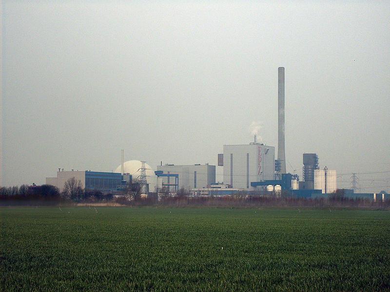 博爾瑟勒核電廠。圖片來源:wikipedia