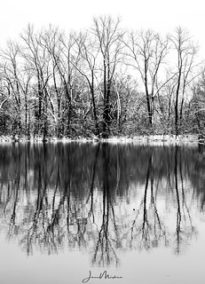 Snow Reflections | by Wits End Photography