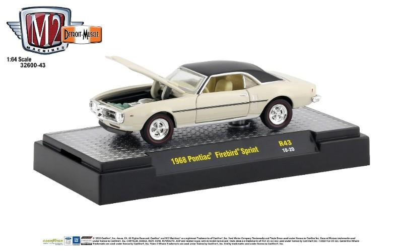 M2 Machines Sprite Limited Edition Set 1:64 1970 Chevy C60 1968 Firebird 400 HO