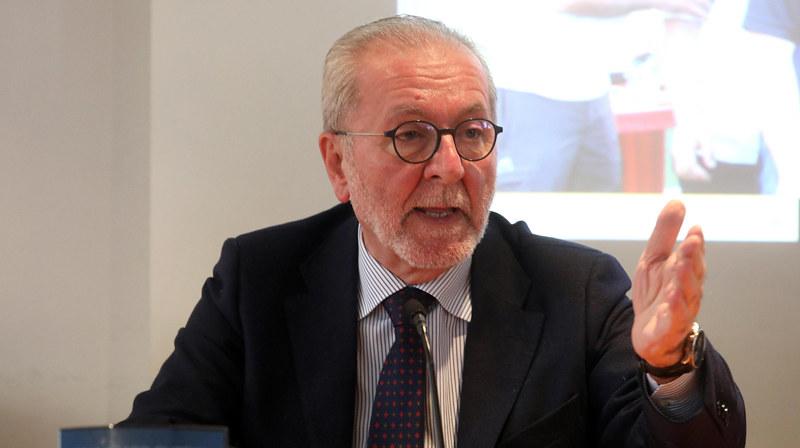 Il presidente della Lega di Serie C Francesco Ghirelli