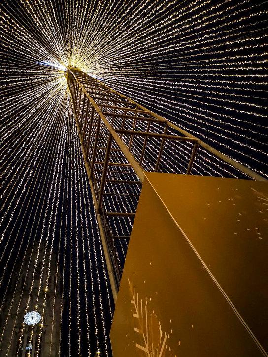 Fotografia em Palavras: Decorações de Natal nas ruas