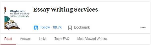 Essays On Science These Services Are Followed By More Than Half A Million Followers And Have  Tons Of Interesting Content I Selected The Top  Most Popular Questions  And  Proposal Essay Example also Example Thesis Statements For Essays Best Writing Services On Quora And Reddit  Scamfighter Interesting Essay Topics For High School Students