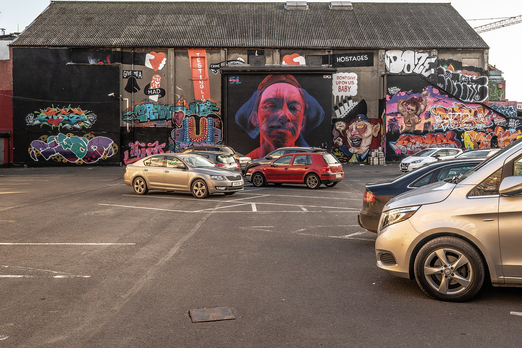 STREET ART AT THE TIVOLI CAR PARK - NOVEMBER 2018 017