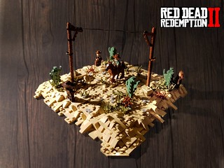 Red Dead Redemption II - Armadillo : Del Lobo Gang Attack | by KevFett2011