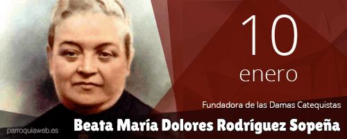 Beata María Dolores Rodríguez Sopeña