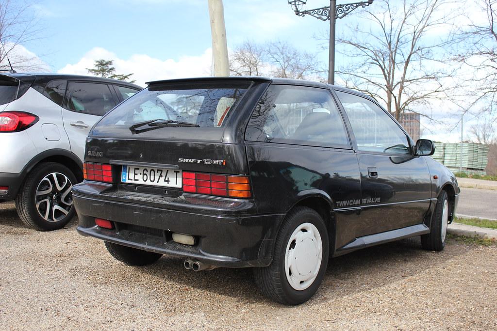 1991 Suzuki Swift GTi EAA34S