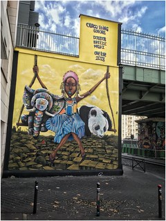 Doudou, Breeze, Masai (Bassin de la Villette, Paris) | by @necDOT