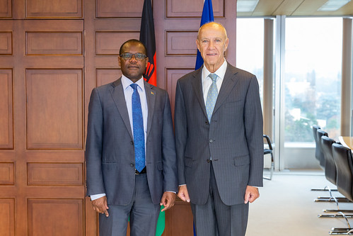 WIPO Director General Meets Malawi's Justice Minister | by WIPO | OMPI
