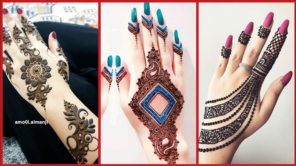 Latest Top Stylish Mehndi Designs Collection For Girls 201 Flickr