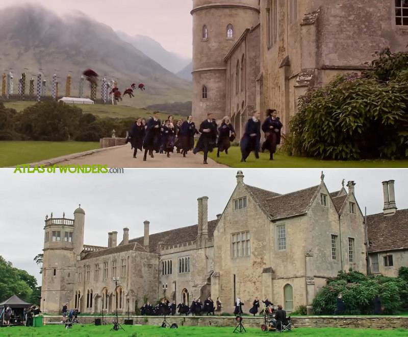 Fantastic Beasts 2 Hogwarts Location