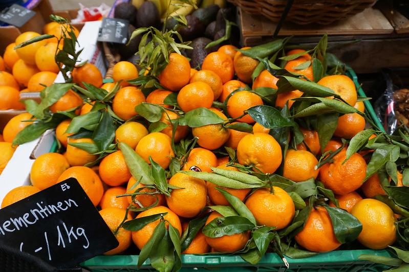 oranges at Markthalle Zurich