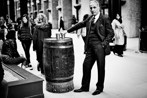 A gentelman with Costa coffee | by snowpine
