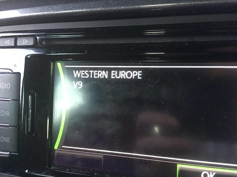 Amundsen Plus (RNS315) V11 maps update - In Car