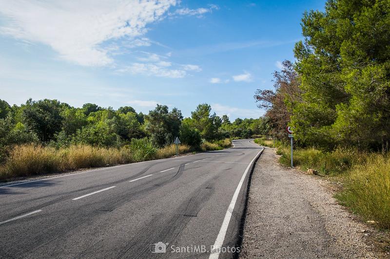 Carretera de La Baronía de Mar