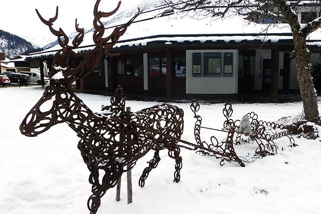 Winter 2018/2019 - Winterliche Mohnmobilreise mit Margit und Karla Kunstwadl ... Füssen, Bad Hindelang, Bad Schussenried --- Fotos: Margit H