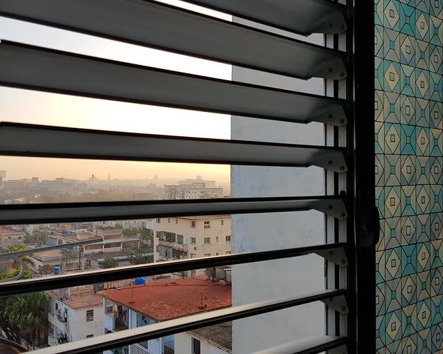 Mis vistas de La Habana desde mi ventana