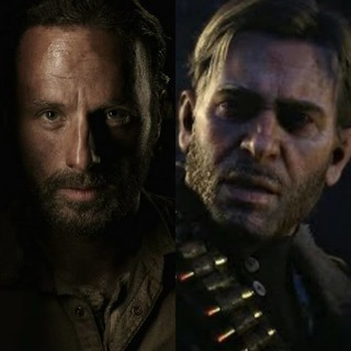 Walking Dead Characters Vs Other Video Game Characters Faceoff