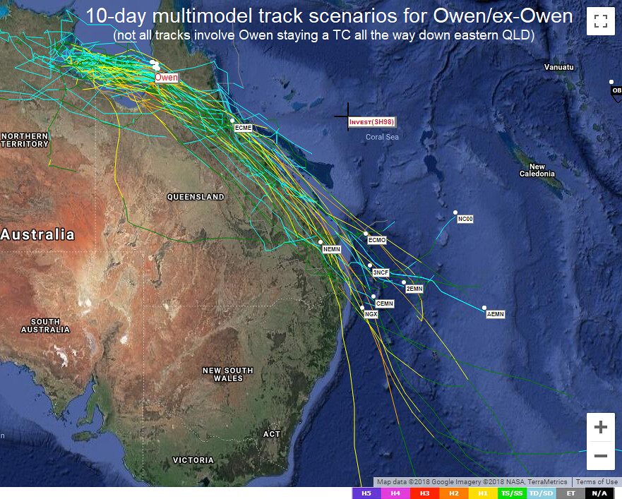 SEQLD / NENSW Day to Day Weather - 2018 [Archive