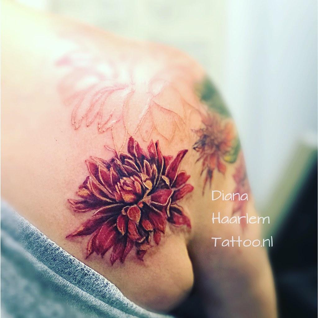 Dahlia Haarlem Tattoo Flickr