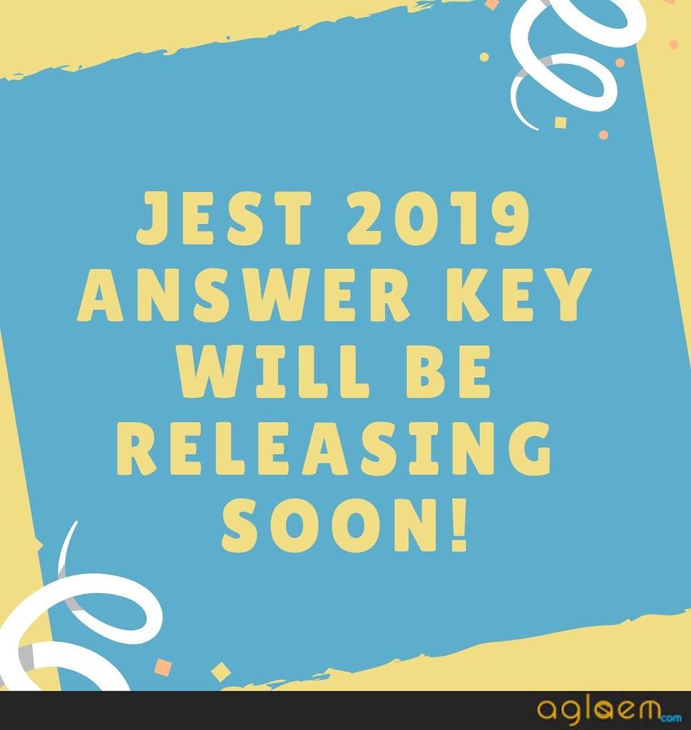 JEST 2019 ANSWER KEY