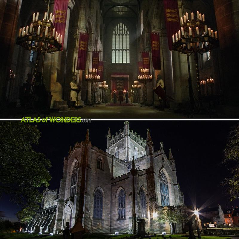 Dunfermline Abbey shooting locations