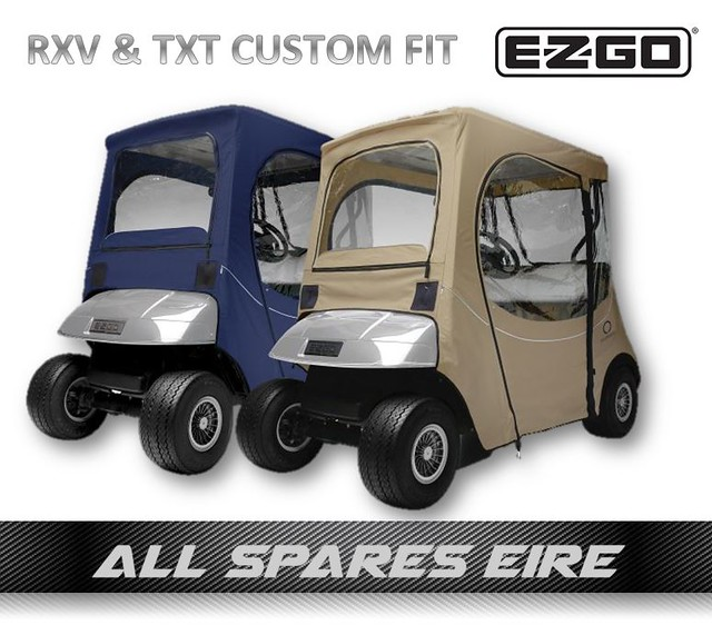 Details about EZGO TXT & RXV CUSTOM FIT GOLF CART BUGGY QUALITY FAIRWAY™  COVER ENCLOSURE