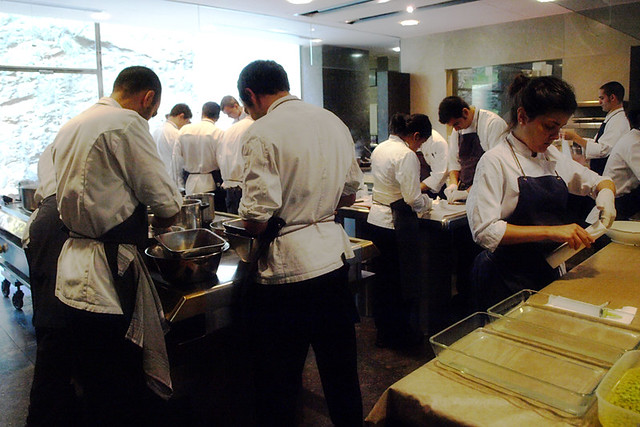 Chefs at El Bulli, Costa Brava, Spain