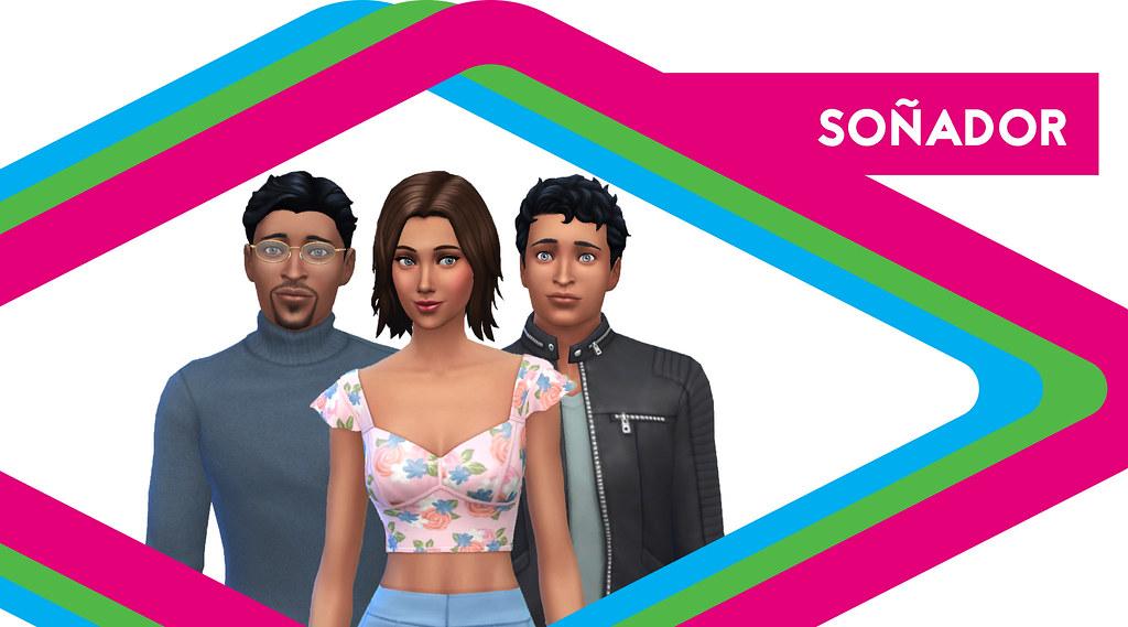 Sims de antaño: Los Soñador