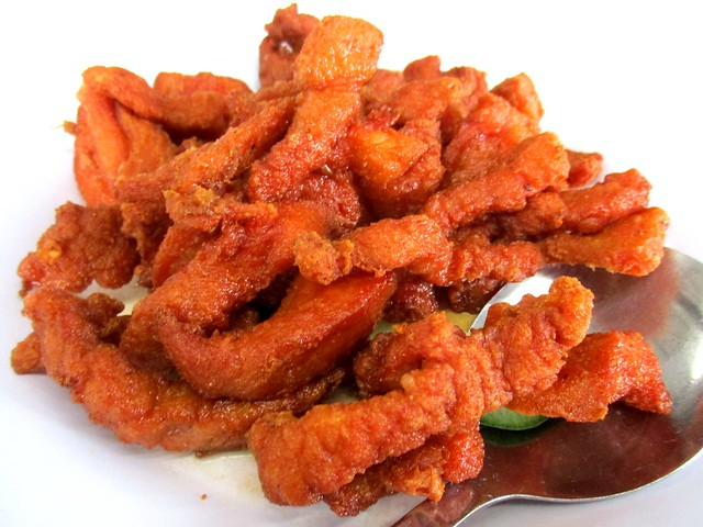 Fried spare ribs