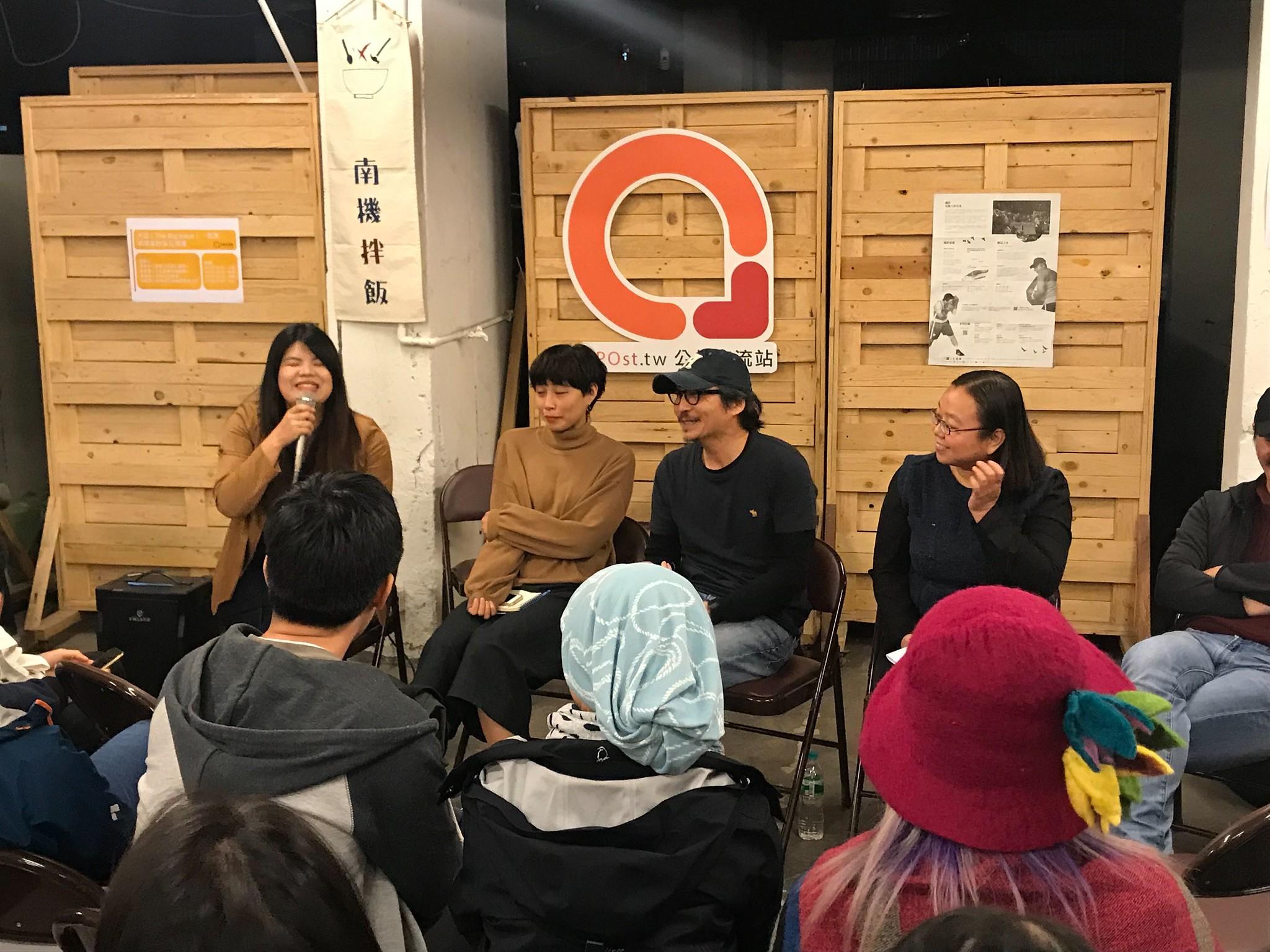 NPOst於昨日舉行「《大誌》、街友與勞雇的多元想像」論壇,針對社會企業的勞動問題進行討論。(攝影:張宗坤)