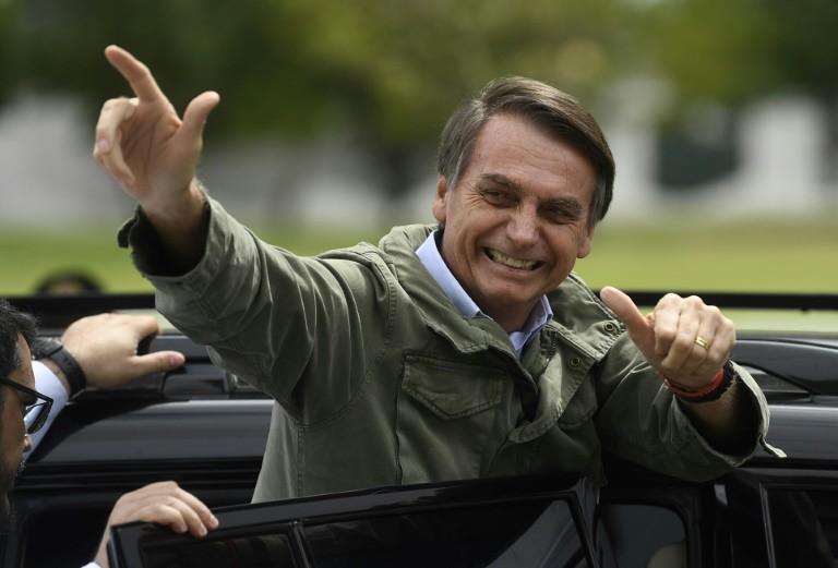 巴西總統波索納洛(Jair Bolsonaro)。圖片來源:Jeso Carneiro(CC BY-NC 2.0)