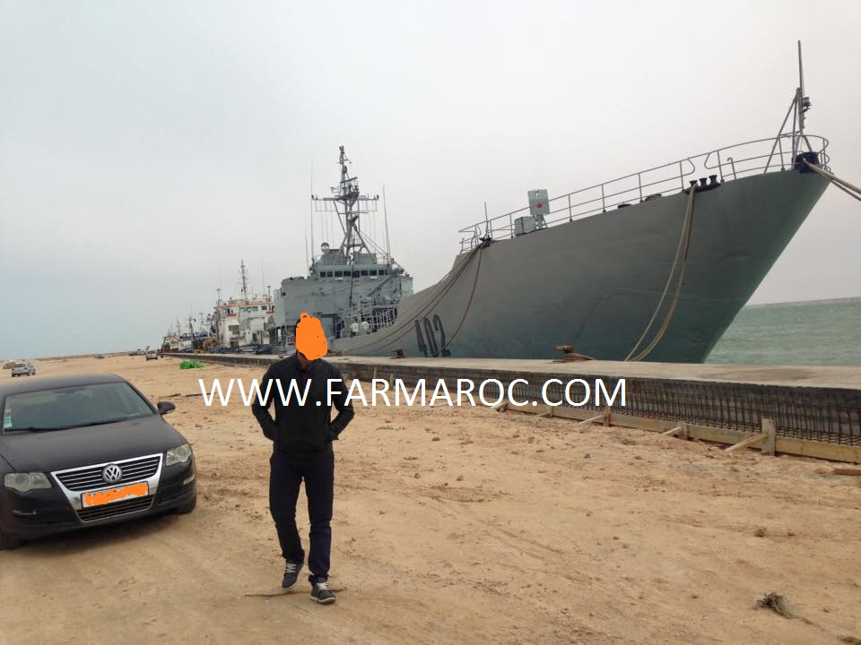 Royal Moroccan Navy Batral LST Class / Batral marocains classe Daoud Ben Aïcha - Page 4 31891091928_be3286a047_o