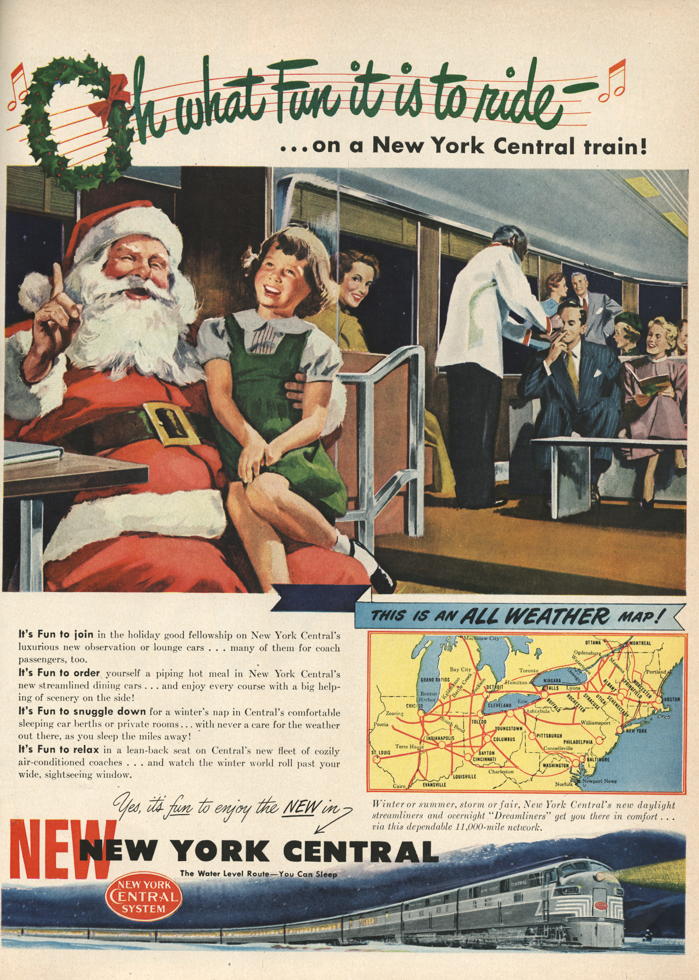 New York Central Railroad - published in Life - December 20, 1948
