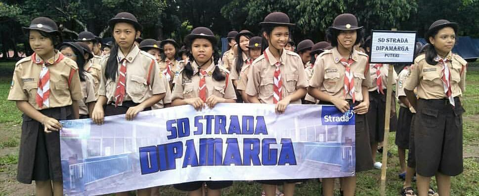 PERJUSA Pramuka Penggalang SD Strada se-JAKUTIM