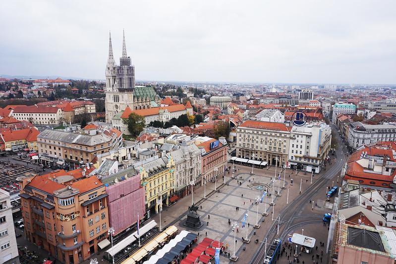 Zagreb, Croatia, city center