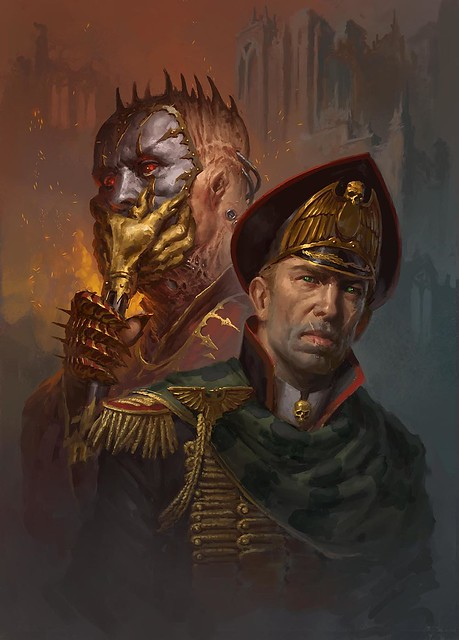 Дэн Абнетт «Призраки Гаунта: Мятежник», рисунок обложки | Gaunt's Ghosts: The Anarch by Dan Abnett, cover artwork