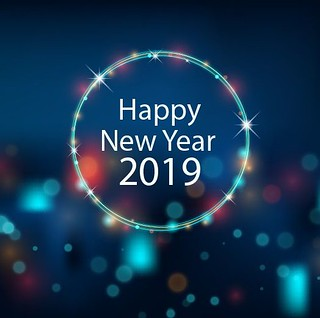 Happy New Year 2019 : Happy New Year Wallpapers 2019 - #Hau2026  Flickr