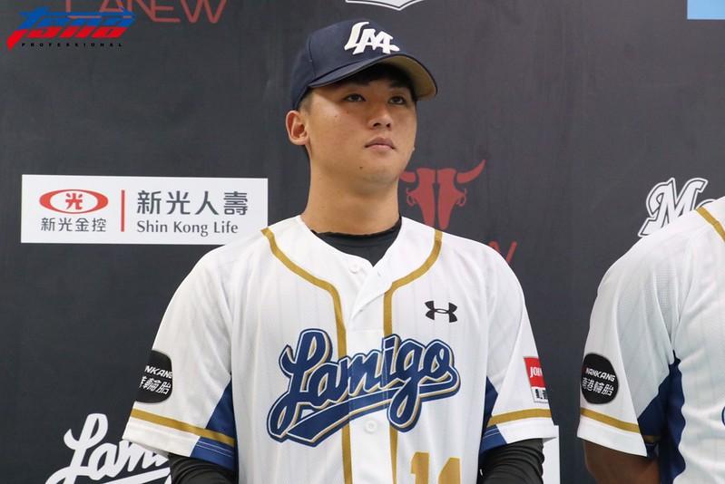 蘇俊羽將在對決羅德首戰擔任先發投手。(行大昀/攝)