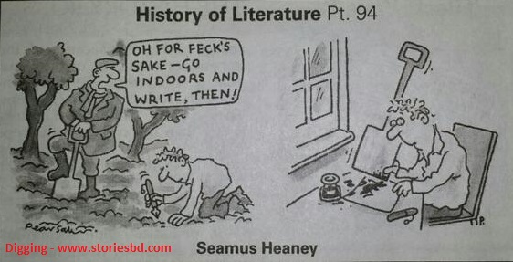 digging - seamus heaney