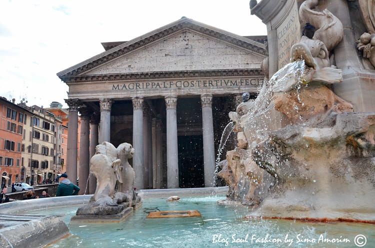 Um dos meus monumentos preferidos de Roma: O Pantheon