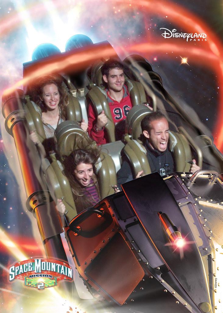 Atracciones de Disneyland París