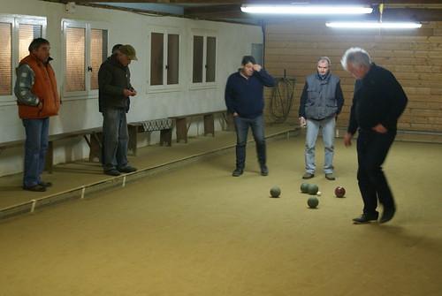 24/11/2018 - Plougasnou : Concours de boules plombées en doublette mêlée