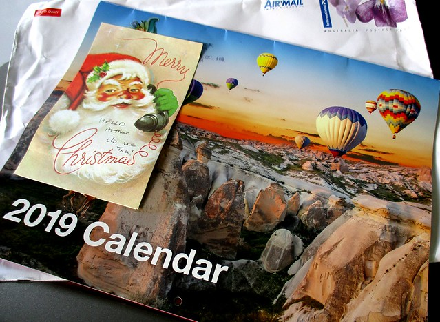 2019 calendar from Australia