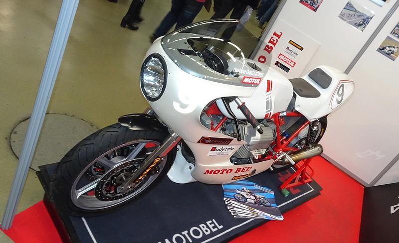 Moto Guzzi Racer Classic Christophe Charles-Artigues MotoBel 32168010168_5ef9a0e782_c