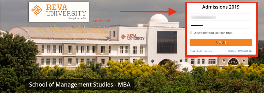REVA MAT 2019 Admit Card
