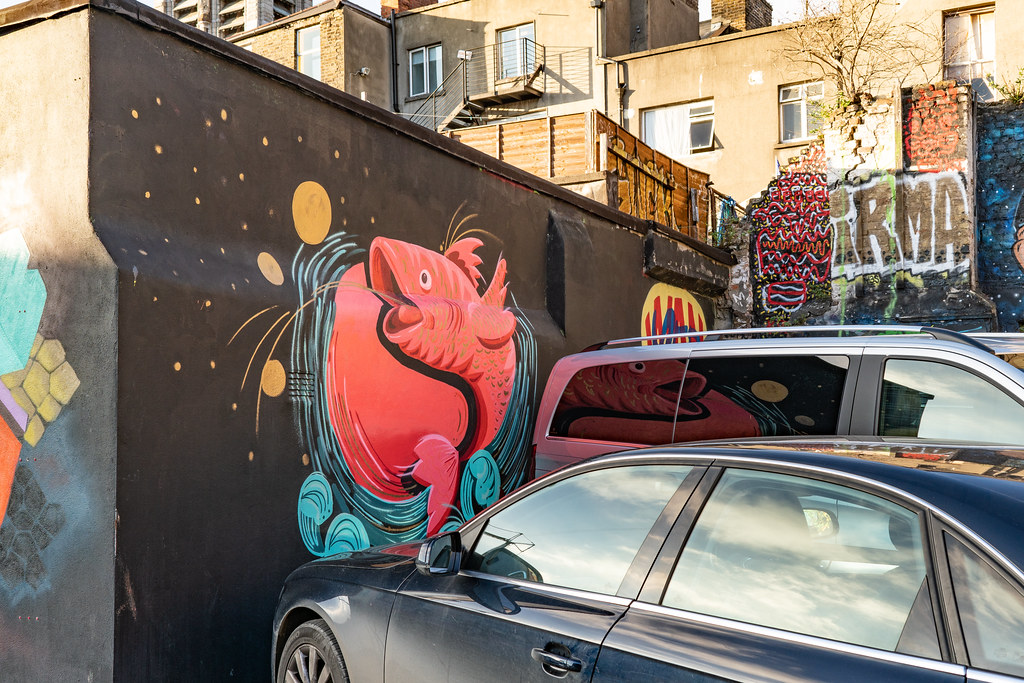 STREET ART AT THE TIVOLI CAR PARK - NOVEMBER 2018 021