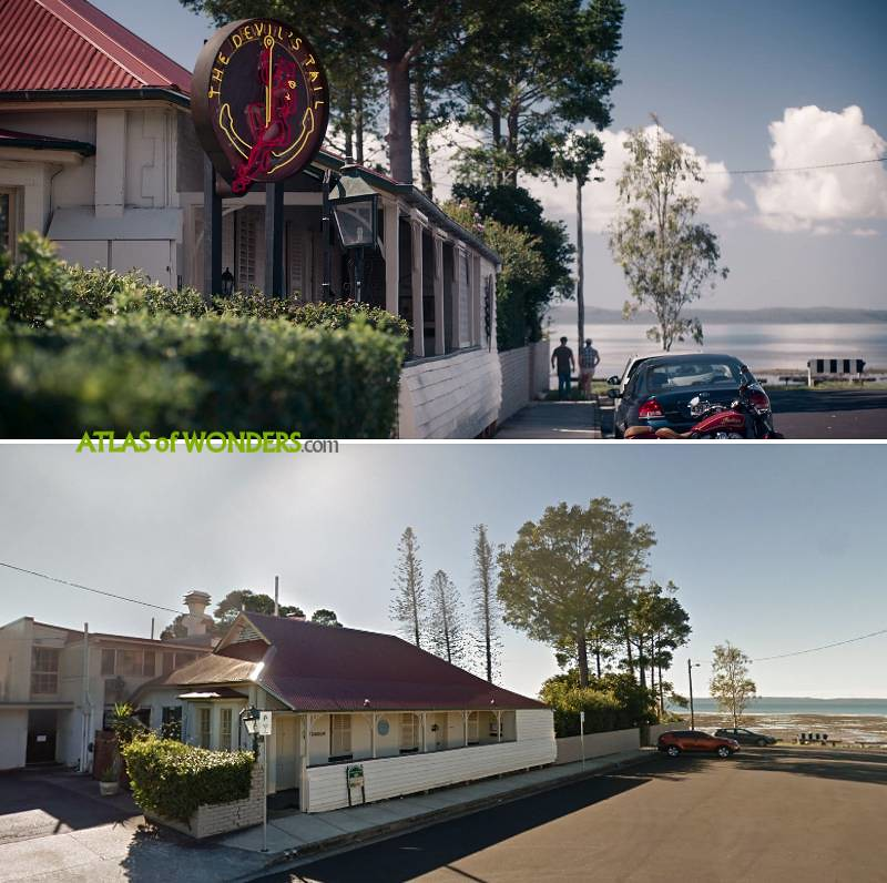Tidelands pub location