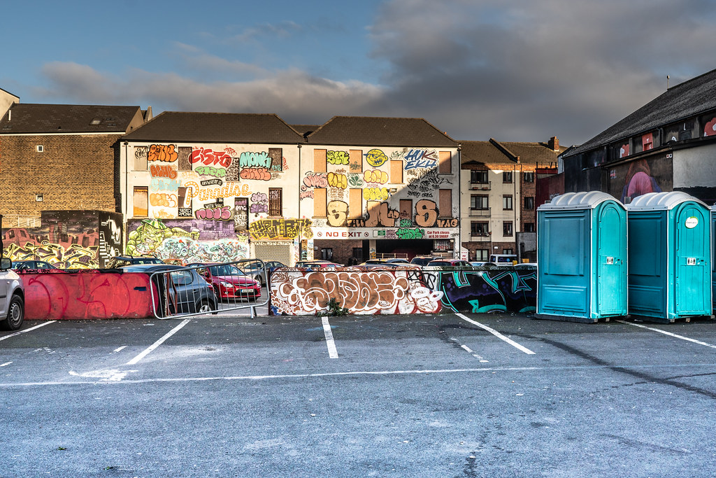 STREET ART AT THE TIVOLI CAR PARK - NOVEMBER 2018 005