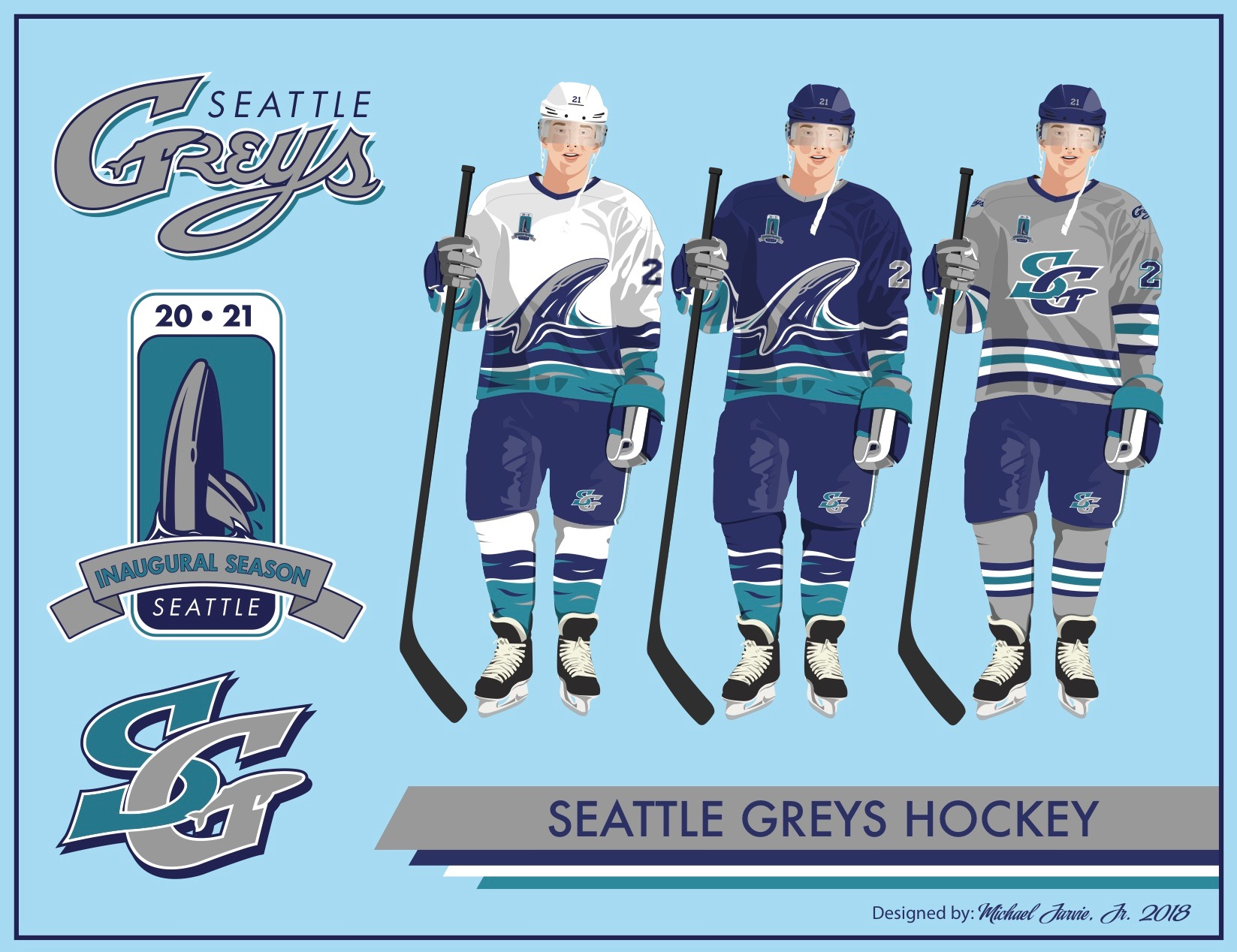 Uni Watch delivers the winning entries for the Seattle NHL