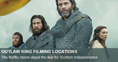 Outlaw king Filming Locations